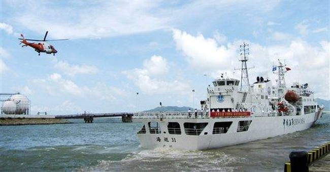 China dispatches large patrol ship amid tensions