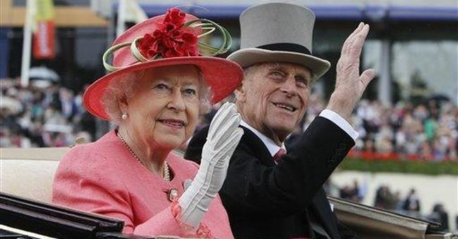 Hats, umbrellas out in droves at Royal Ascot