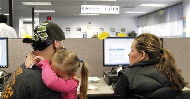 Unemployment applications drop, but remain high