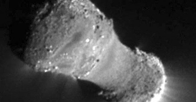 Hyperactive comet photographed by NASA