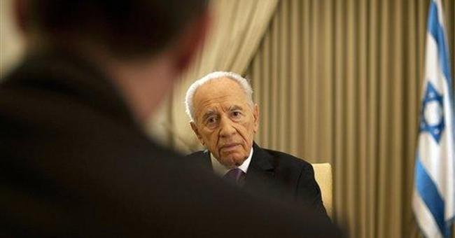 Peres: Palestinians' UN move 'an illusion'