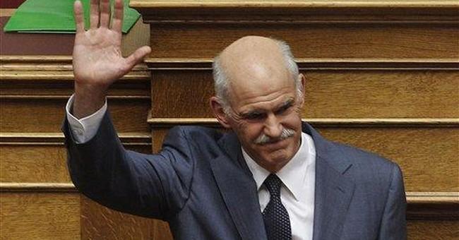 Greece wracked by political turmoil in debt crisis