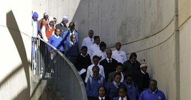 """""""Born free"""" South Africans confront brutal history"""