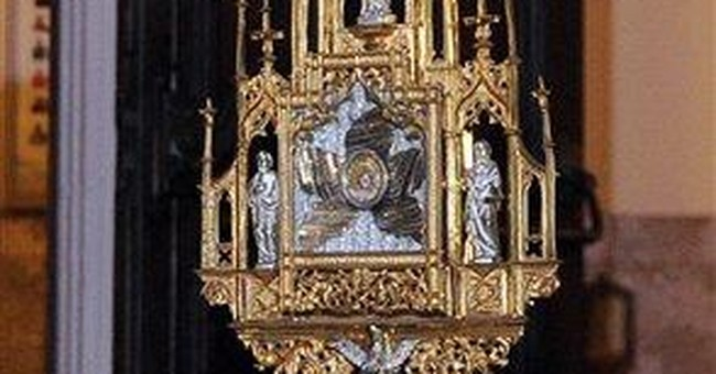 Religious relic found, returned to Calif. church