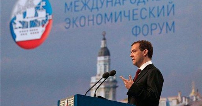 Medvedev: Govt role in economy has to be cut