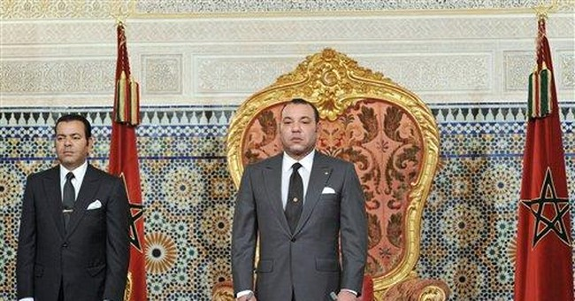 King declares Morocco a constitutional monarchy