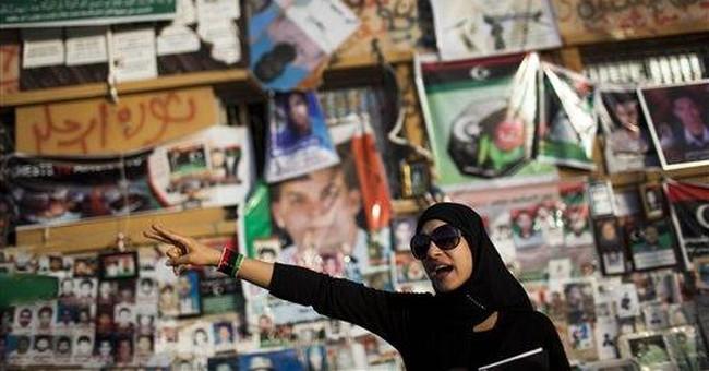 Libyan rebels live by 'V' sign: 'We win or we die'