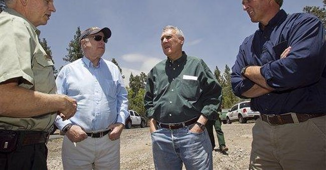 McCain 'puzzled' by anger over wildfire remark