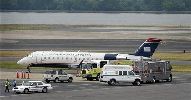 FBI: No bomb found on plane at Reagan after threat