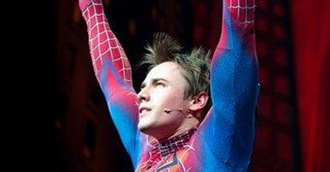 'Spider-man' musical not hurt by poor reviews