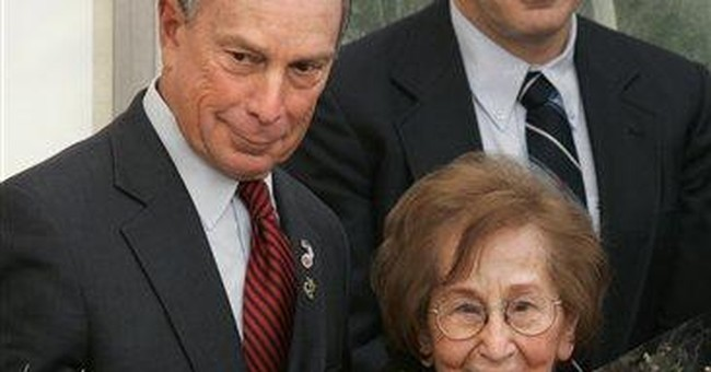 Mother of NYC Mayor Michael Bloomberg dies at 102