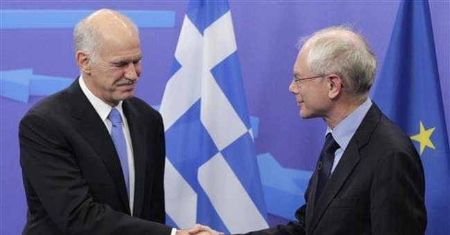 EU strives to contain Greek debt storm