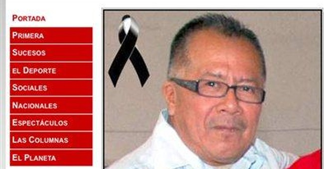 Mexico reporter, his son and wife shot to death