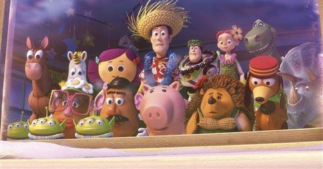 Playtime resumes for 'Toy Story' in cartoon short