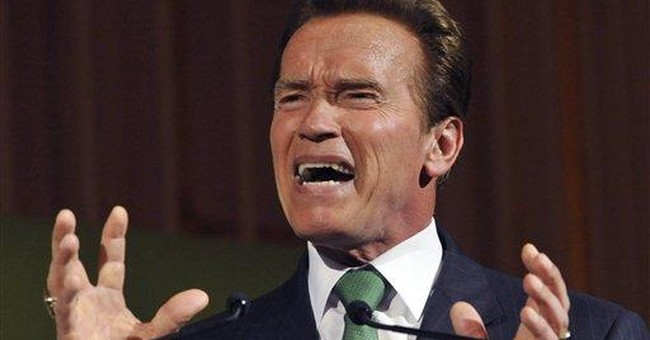 Arnie misses Austria _ and schnitzel