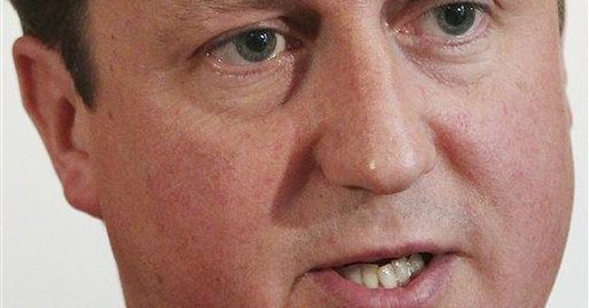 UK's Cameron insists military backs Libya mission