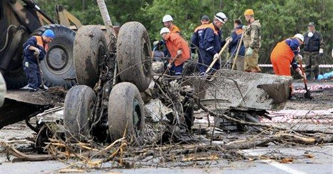 Russia to discard Soviet-era airliners after crash