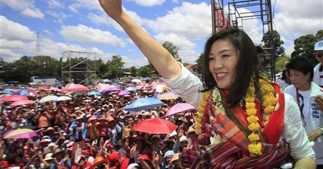 Thaksin's 'clone' sister electrifies rural Thais