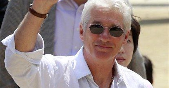 Richard Gere visits Buddhist temple in South Korea