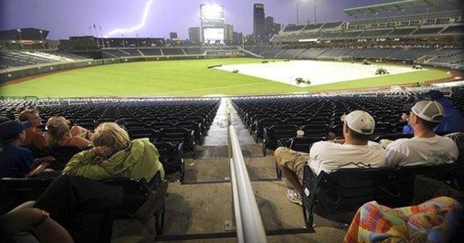 Tornado sirens force evacuation of Omaha stadium