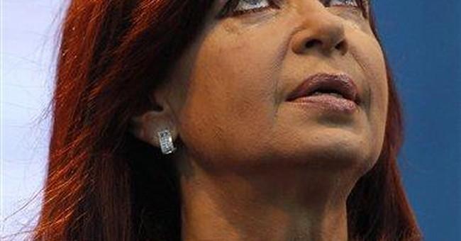 Argentina's Fernandez favored in re-election bid