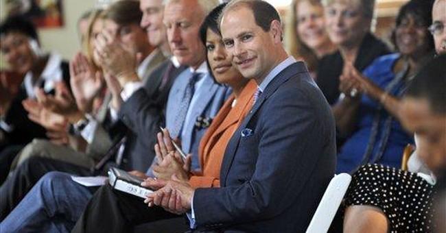 Prince Edward brings youth program to Baltimore