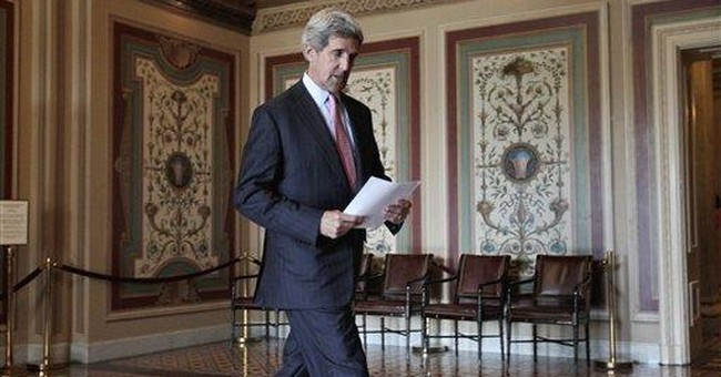Kerry, McCain push Libya resolution