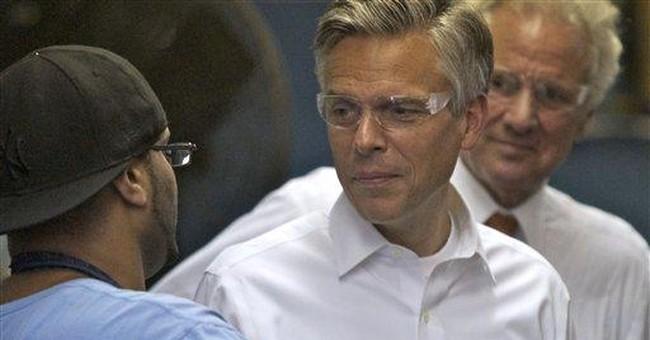 In SC, Huntsman says Obama needed in union fight