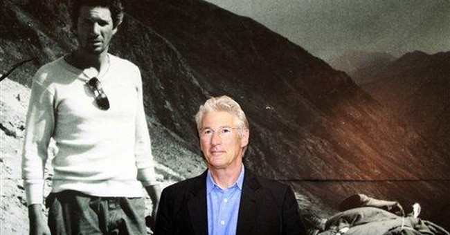 Gere criticizes China over abuse in Tibet