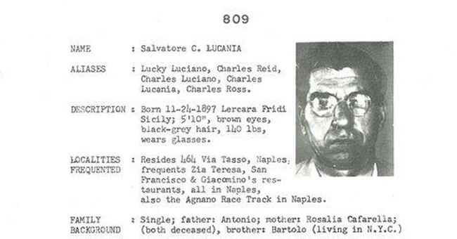 Old Mafia file going on NY auction block