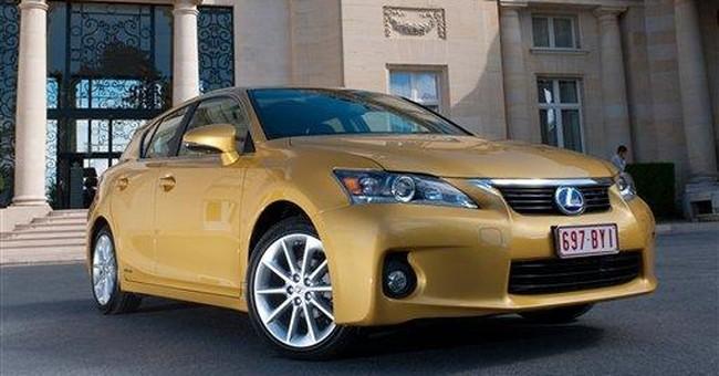 Best-looking hybrid is a Lexus