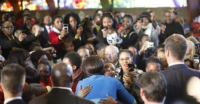 Michelle Obama to Mandela meeting: 'Very surreal'