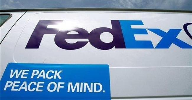 FedEx 4Q net income rises 33 percent