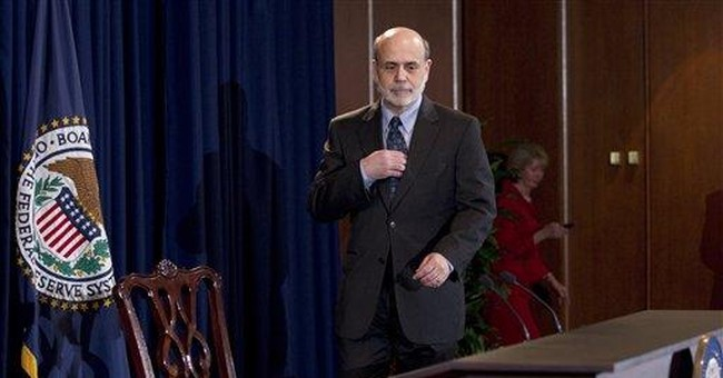 Economic trouble puzzles Fed chief, too