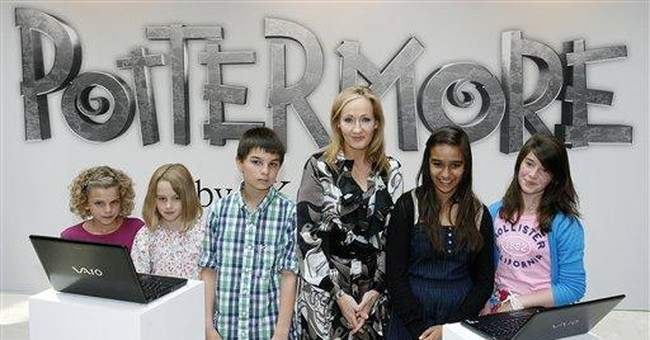 Harry Potter wizard series to be sold as e-books