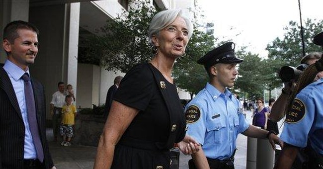 Lagarde makes case to lead IMF