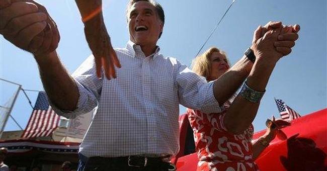Romney, Bachmann lead in 2012 Iowa caucus poll