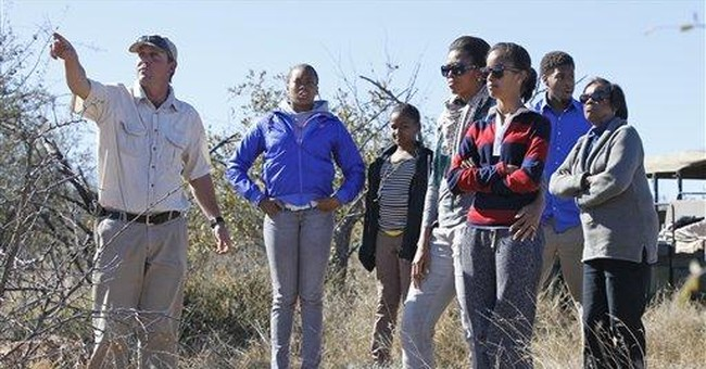 Michelle Obama and family go on African safari
