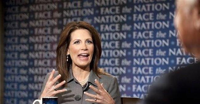 Bachmann: 2012 bid not 'personal' against Obama