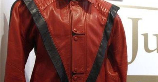 Michael Jackson 'Thriller' jacket fetches $1.8M