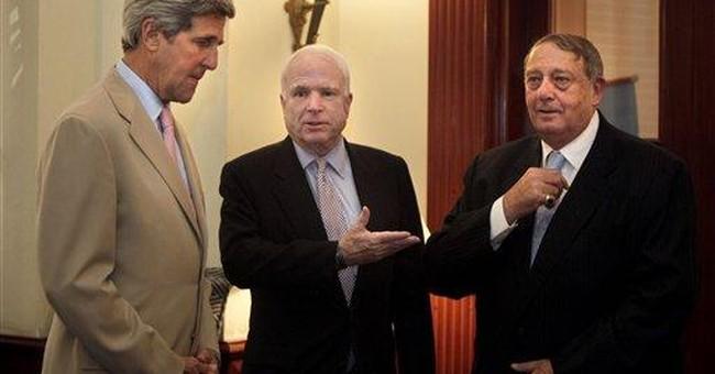 McCain: Egypt military wants civilian government