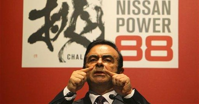 Nissan aims for 8 percent global market share