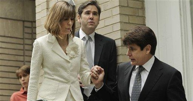 Convicted Blagojevich faces prospect of prison