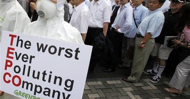 Japan utility behind damaged nuke plant apologizes