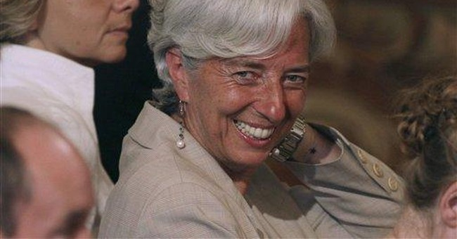 Lagarde's selection marks a break with IMF's past