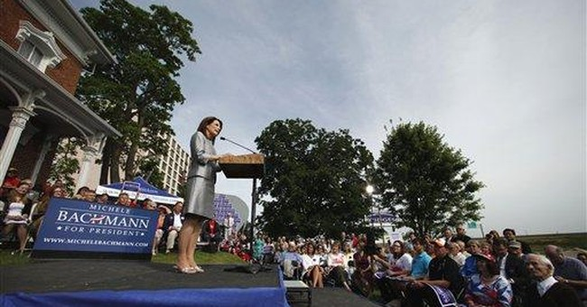 Outspoken Bachmann launches White House bid