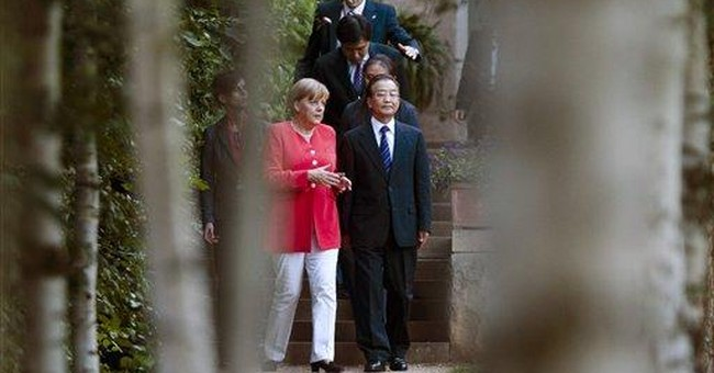 Germany, China stress support for euro