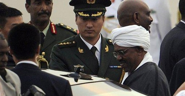 China welcomes Sudan leader wanted on war crimes