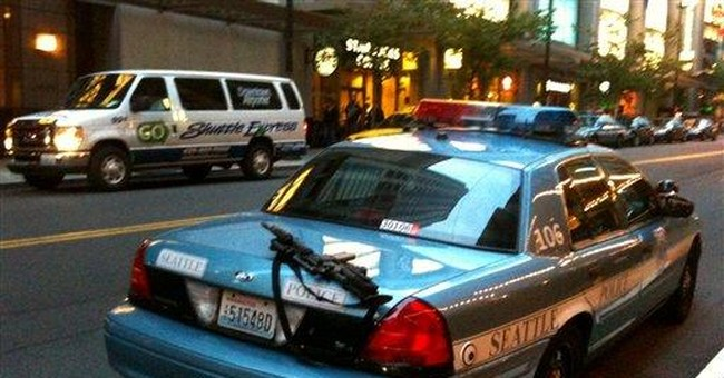 Seattle police leave rifle unattended on cruiser