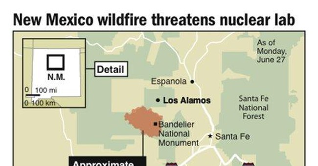 'Make or break day' for stopping Los Alamos fire